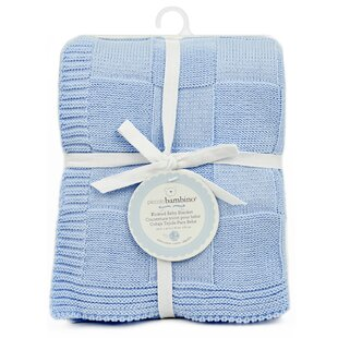 Dillingham Checkered Knitted Baby Blanket ByHarriet Bee