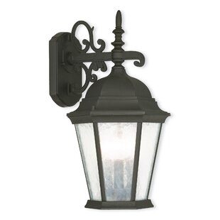 Christian 3-Light Outdoor Wall Lantern By Darby Home Co Outdoor Lighting