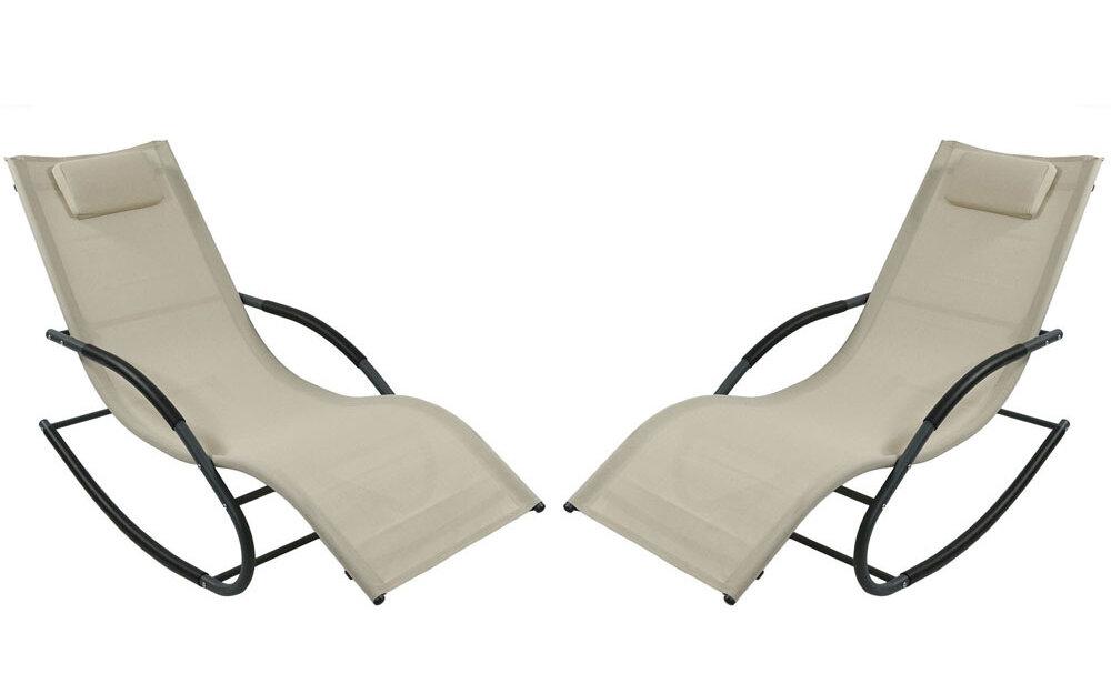 Strange Warfel Rocking Wave Sun Lounger Set Forskolin Free Trial Chair Design Images Forskolin Free Trialorg