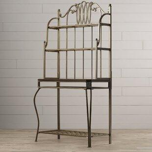 Copenhagen Steel Baker's Rack by Astoria Grand