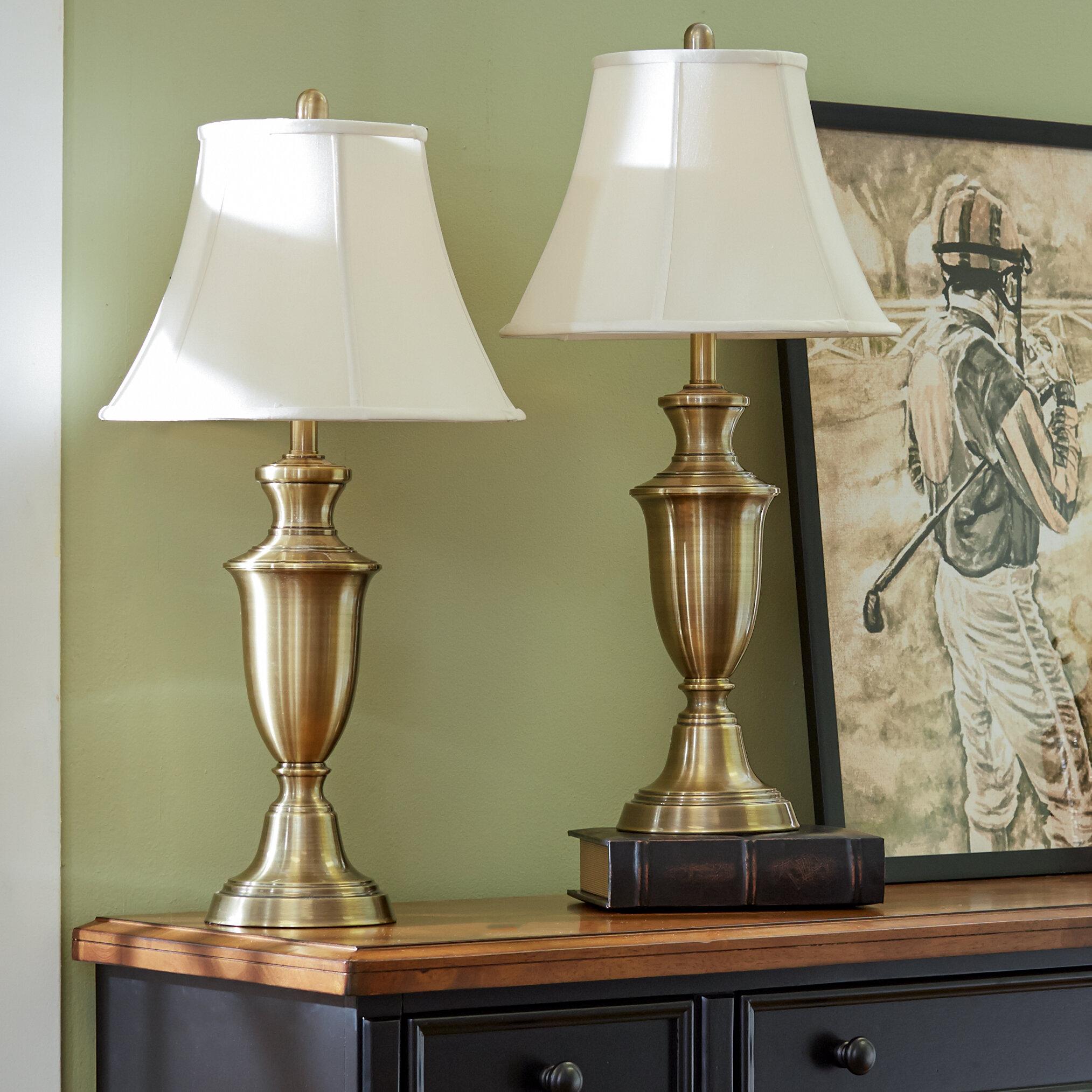 Three Posts Rowan 30 5 Table Lamp Set Reviews Wayfair