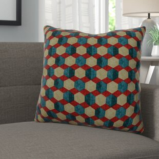Evert Bejeweled 100% Cotton Throw Pillow