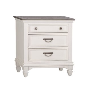 Gerth 3 Drawer Nightstand by Ophelia & Co.