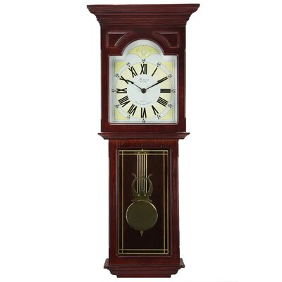 Wall Clock with Pendulum Bedford Clock