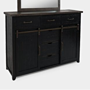 Flournoy 3 Drawer Combo Dresser with Mirror by Millwood Pines