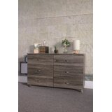 Rianne 6 Drawer Double Dresser by Latitude Run®