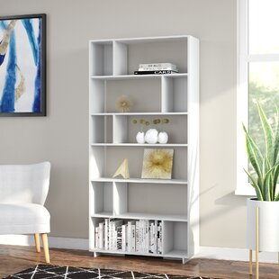 Tariq Geometric Bookcase by Wade Logan