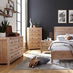 Montauk Standard 2  Piece  Bedroom Set by Grain Wood Furniture