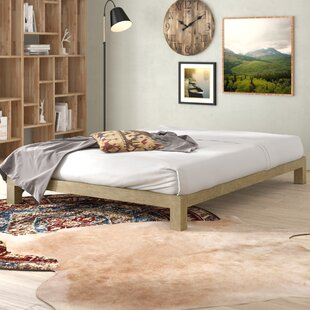 Szumowski Metal Platform Bed Frame by Union Rustic Looking for