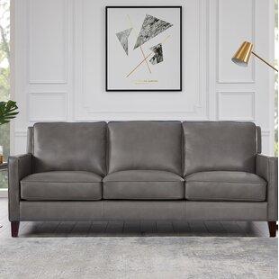 Ozbourn Leather Sofa