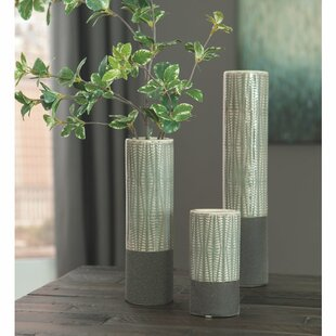Waterford 3 Piece Table Vase Set