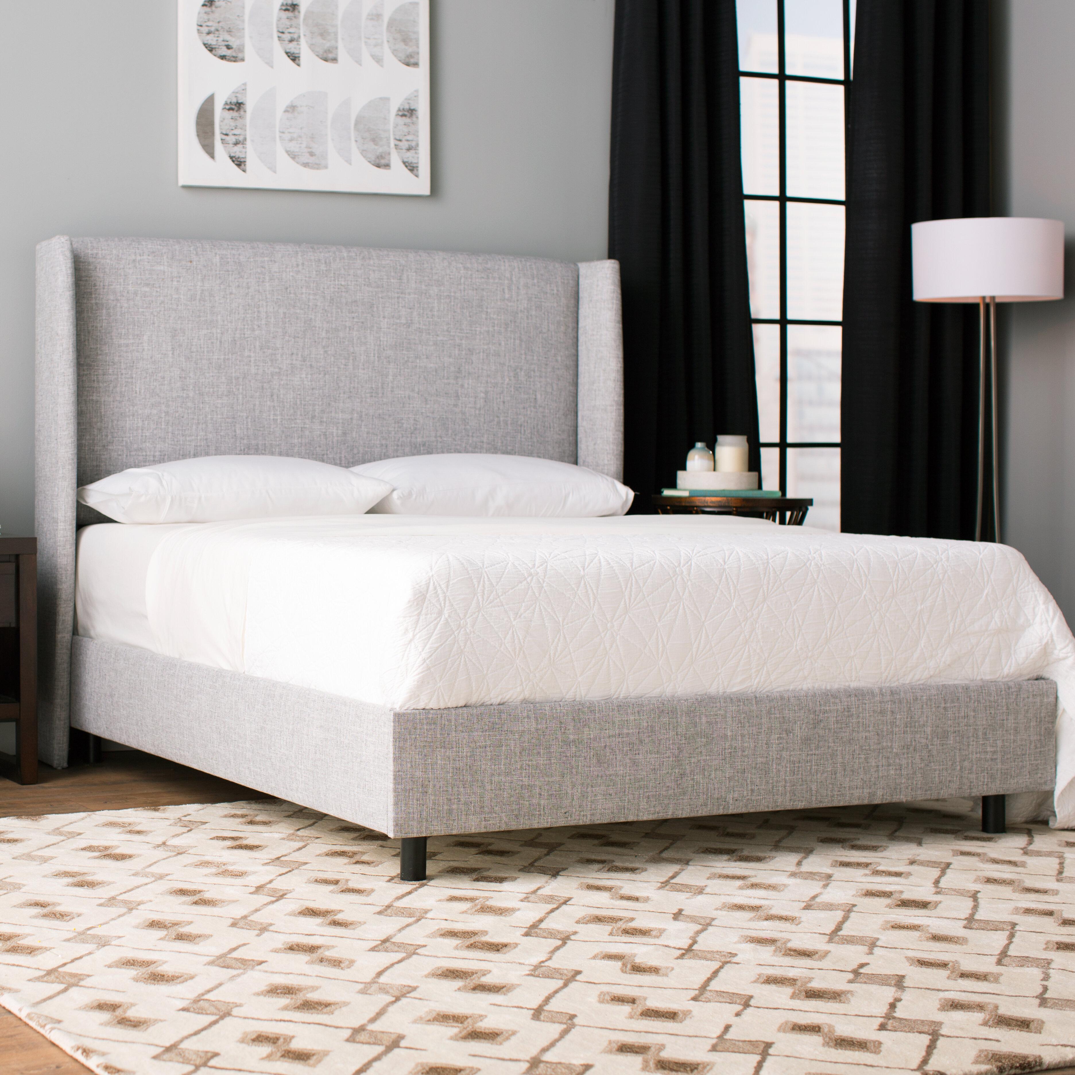 Alrai Upholstered Standard Bed Joss Main