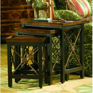 Seven Seas 3 Piece Nesting Tables by Hooker Furniture Best Design