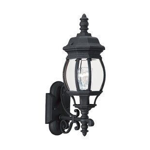 Great choice Nicoma Park 1-Light Outdoor Sconce By Bloomsbury Market