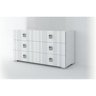 Dorland 6 Drawer Double Dresser by Orren Ellis Best #1