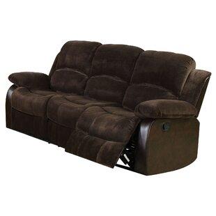 Hintz Upholstered Motion 3 Seater Reclining Sofa