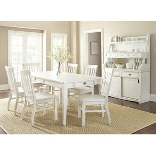 Duclos 7 Piece Dining Set Highland Dunes