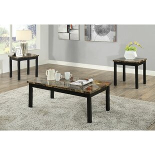 Mangume 3 Piece Coffee Table Set by Fleur De Lis Living