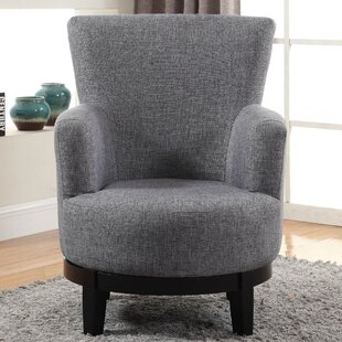 Swivel Armchair by Nathaniel Home