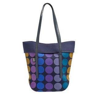 City Plum Dot Picnic Tote Bag