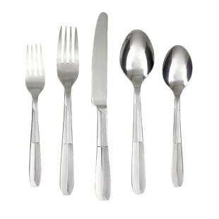 Asher Sand 30 Piece Flatware Set, Service for 6