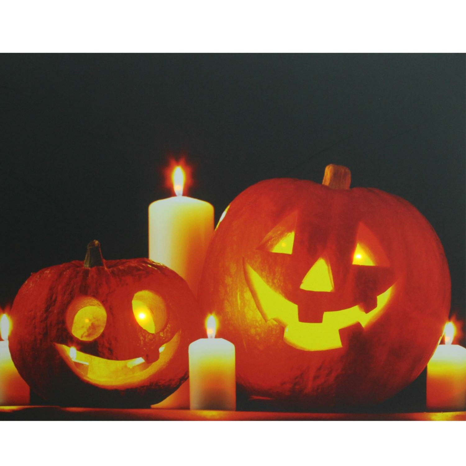Northlight Halloween Jack O Lanterns Battery Operated Led Graphic