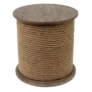 Bargain Baytowne Rope End Table By Crestview Collection