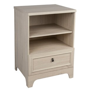 Alysia 1 Drawer Accent Cabinet by Highland Dunes