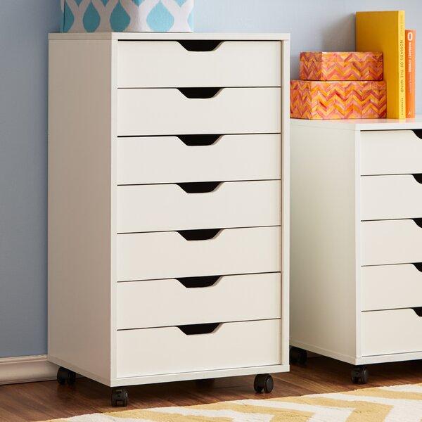 Zipcode Design Riley 7 Vertical Filing Cabinet U0026 Reviews | Wayfair