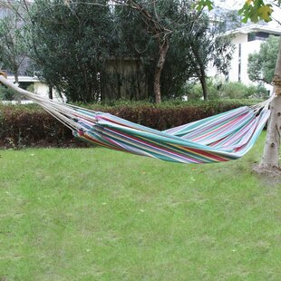Melmore Cotton Fabric Canvas Tree Hammock by Red Barrel Studio Looking for