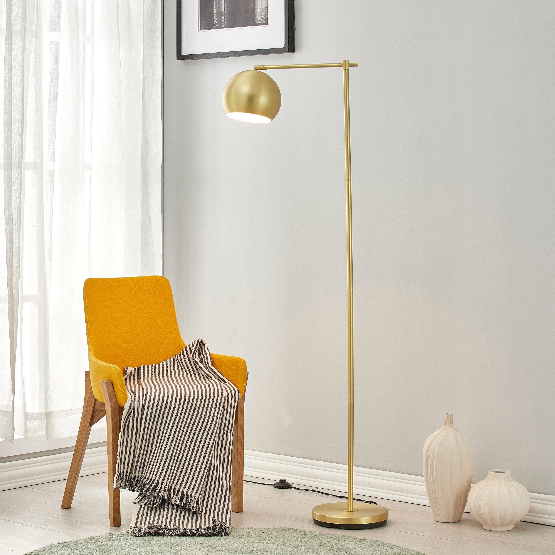 Corrigan Studio Lelia 62 Task Floor Lamp Reviews Wayfair