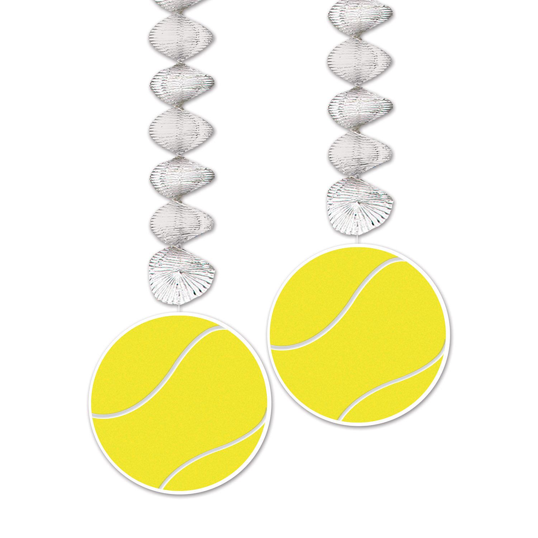 The Holiday Aisle Fray Tennis Ball Dangler Wall Decor | Wayfair