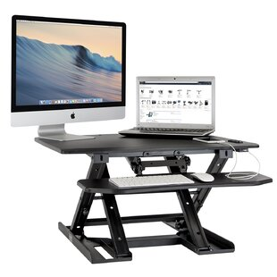 Clabaugh Electric Height Adjustable Standing Desk Converter