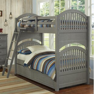 Reviews Nickelsville Twin Over Twin Bunk Bed with Trundle by Three Posts Reviews (2019) & Buyer's Guide