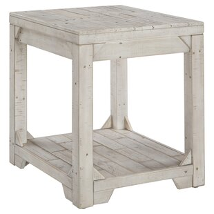 Read Reviews Ezio End Table By Highland Dunes