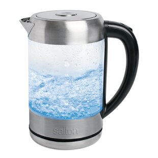1.7 Qt. Glass Cordless Electric Tea Kettle