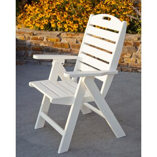 Nautical Highback Chair by POLYWOOD® Cool