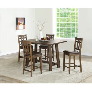 Kirtin 5 Piece Pub Table Set Gracie Oaks