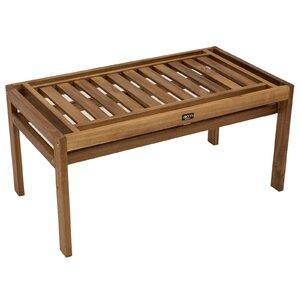 2-Sitzer Gartenbank Modular aus Massivholz von Garten Living