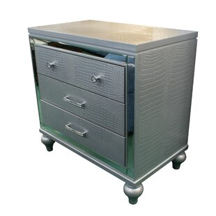 Merriweather Luxe 3 Drawer Nightstand