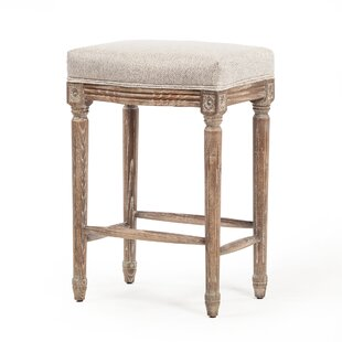 Viqueque Vintage French 26.5 Bar Stool by Ophelia & Co.