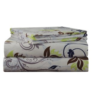 Spring Ivy Flannel Sheet Set