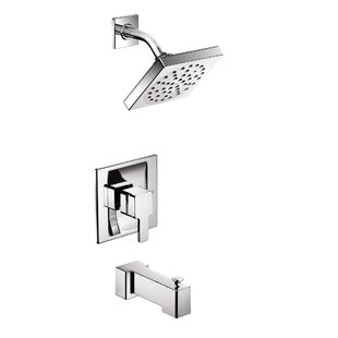 90 Degree Tub and Shower Faucet with Posi-Temp By Moen