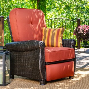 Breckenridge 2 Piece Sunbrella Recliner Seating Group with Cushion