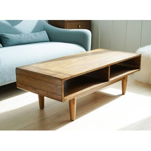 Cracraft Dexter Coffee Table by George Oliver Discount