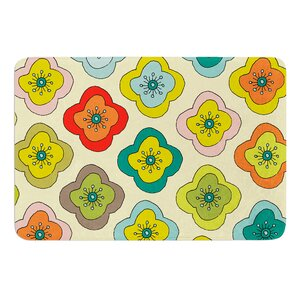 Forest Bloom by Nicole Ketchum Bath Mat