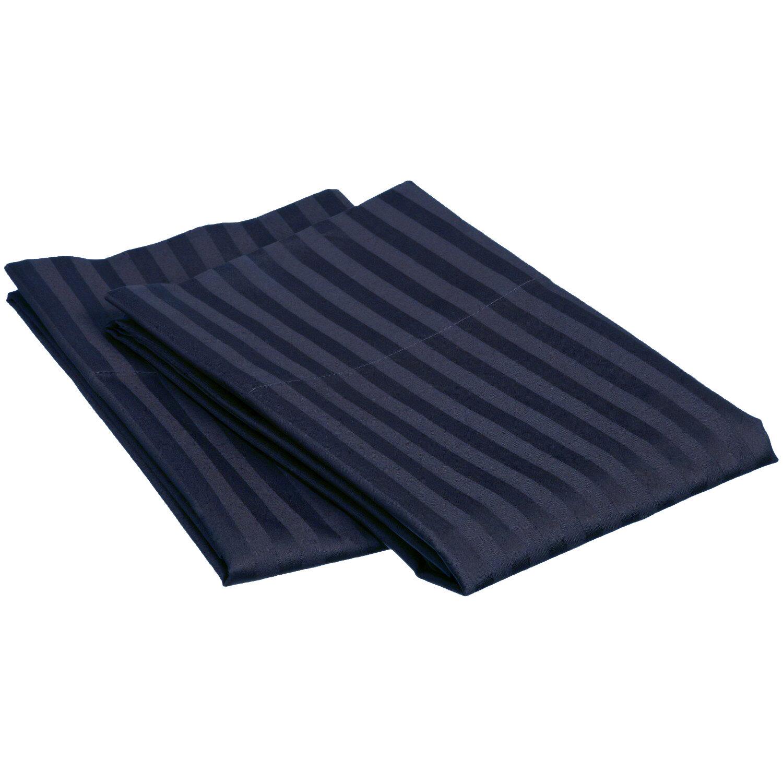 Winston Porter Akbar 650 Thread Count Striped Egyptian Quality Cotton Pillowcase Wayfair