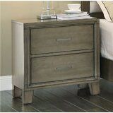 Minyard 2 Drawer Nightstand by Alcott Hill®