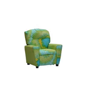 Best Reviews Mixy Tie Dyed Kids Suede Recliner By Kidz World