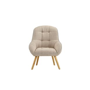 Draeger Tufted Upholstered Armchair by George Oliver